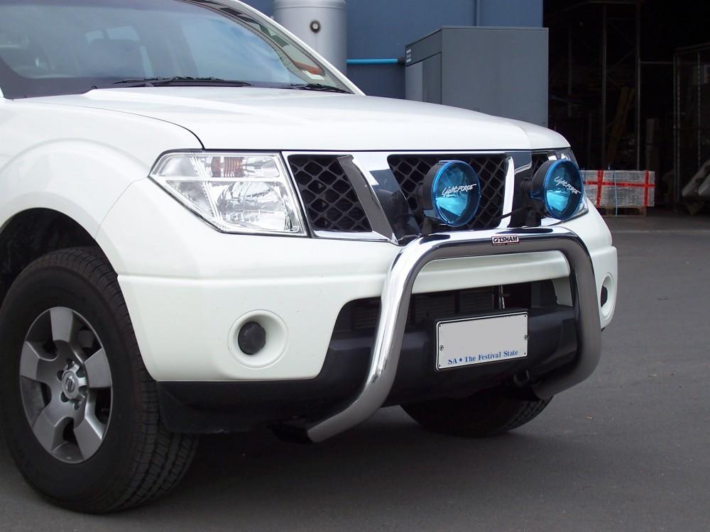 Nissan D40 Navara Nudge Bar Aluminium Auto Accessories