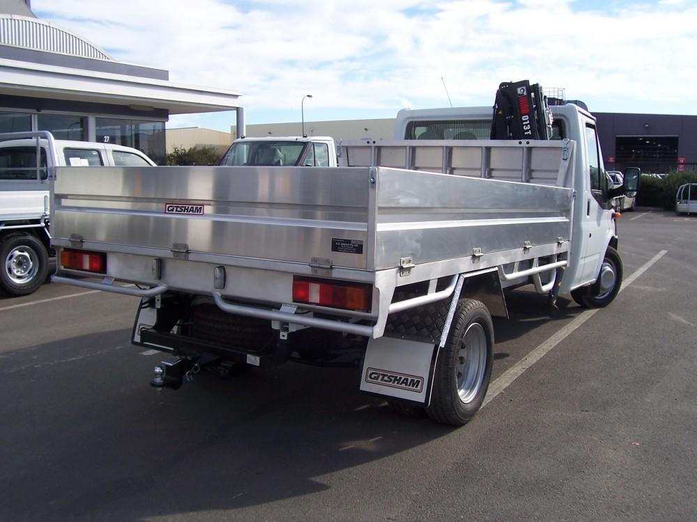 Custom Welded Tray With Tipper Amp Crane Aluminium Auto