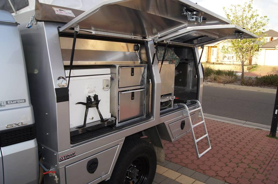 Land Cruiser Camper Service Body Aluminium Auto