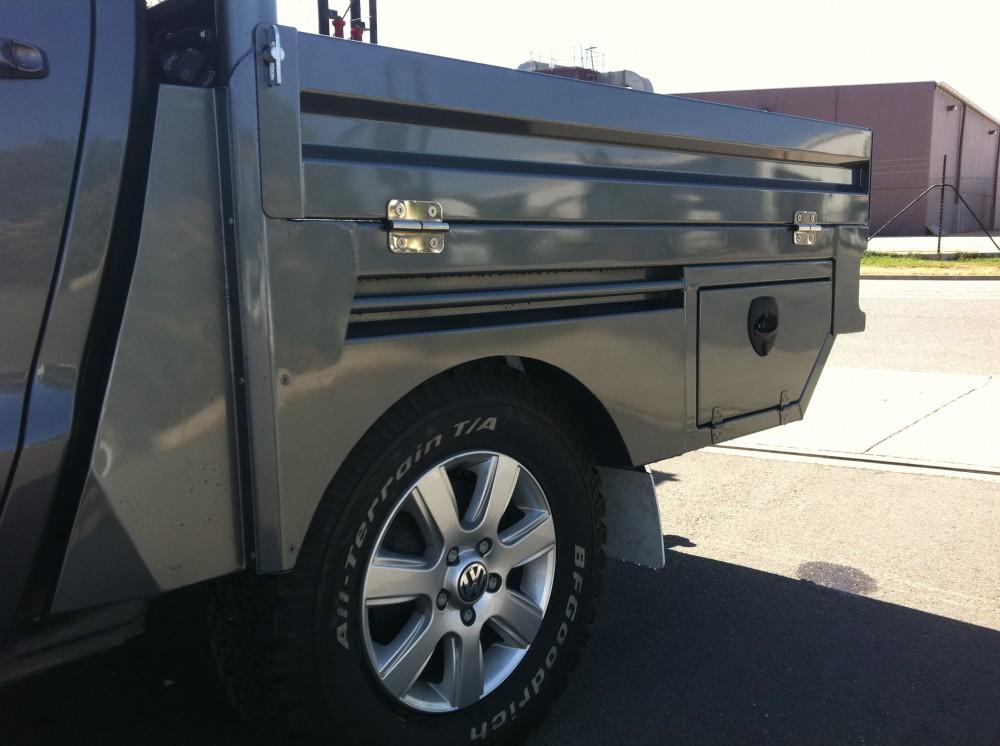 Volkswagon Amarock Welded Alloy Tray Painted Aluminium