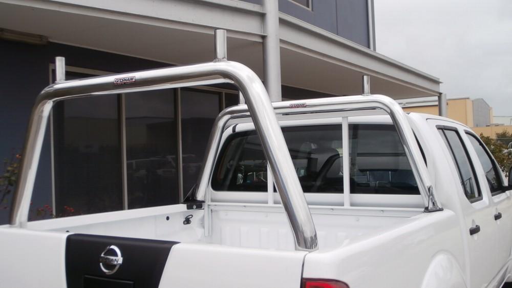Navara D40 Front Amp Rear Load Racks Aluminium Auto
