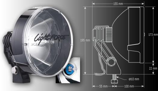 light force 170 strikers aluminium auto accessories g