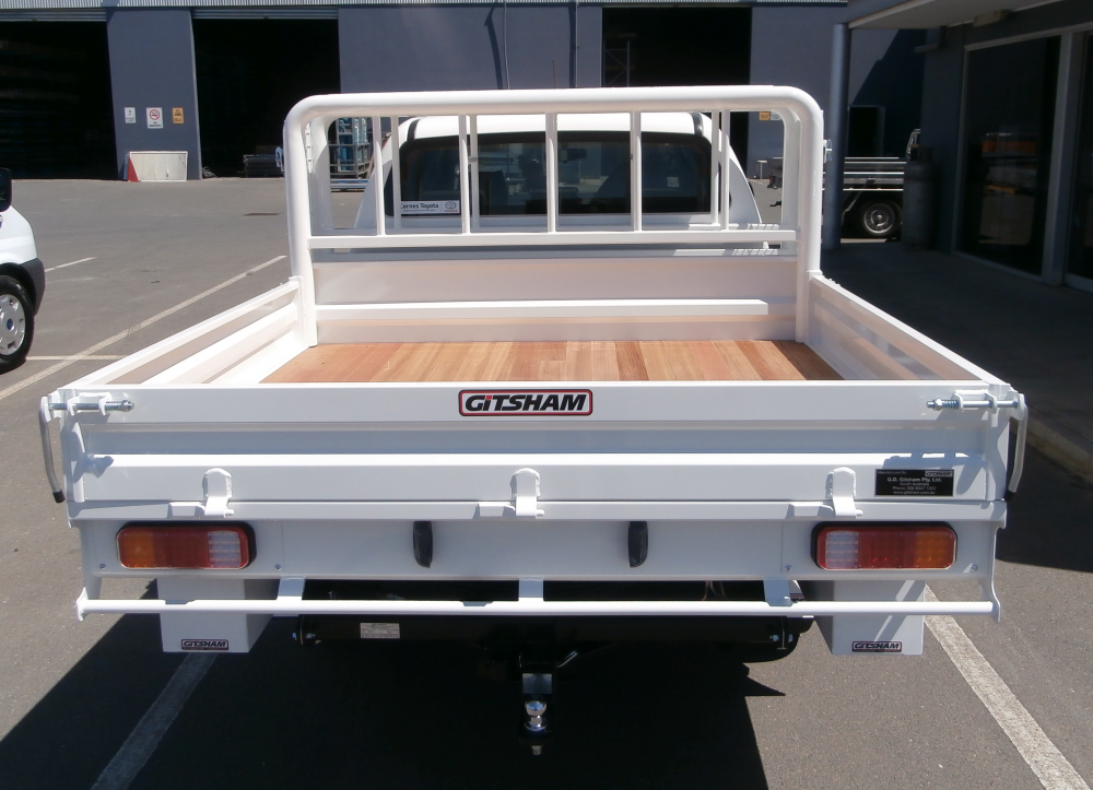 Hilux Steel Tray With Front Wheel Carrier Cage Amp Wooden