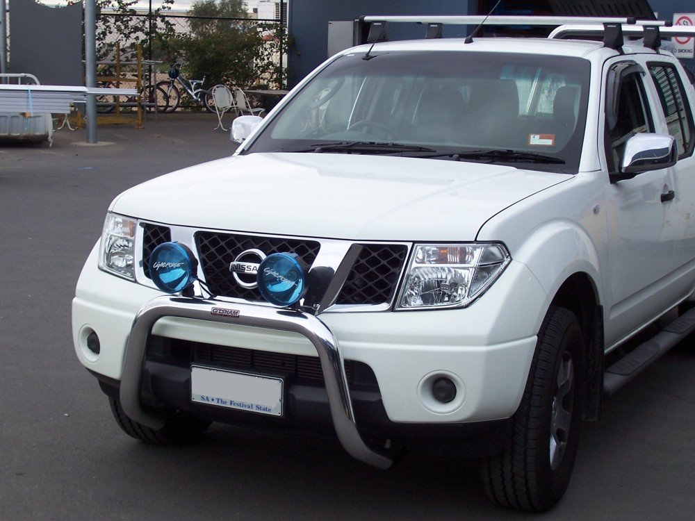 Nissan D40 Navara Nudge Bar Aluminium Auto Accessories