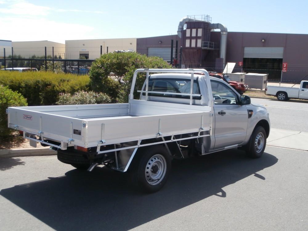 Ford Px Ranger Single Cab Alloy Tray Aluminium Auto