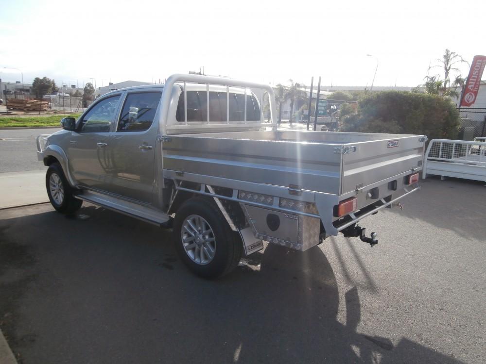 2014 Toyota Hilux Sr5 Welded Alloy Tray Aluminium Auto