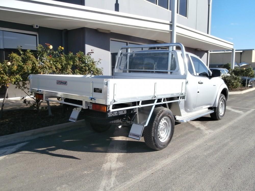 Mitsubishi Triton Alloy Tray Aluminium Auto