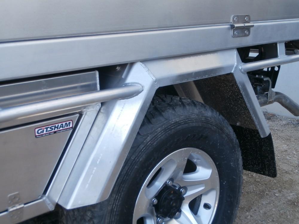 Custom Style Mud Guard Aluminium Auto Accessories G D