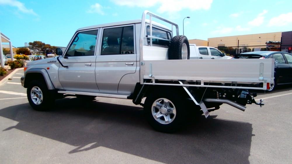Land Cruiser Dual Cab Aluminium Auto Accessories G D