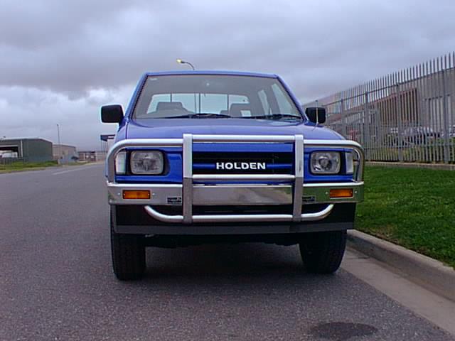 Holden R9 Type 6 Bull Bar Aluminium Auto Accessories G
