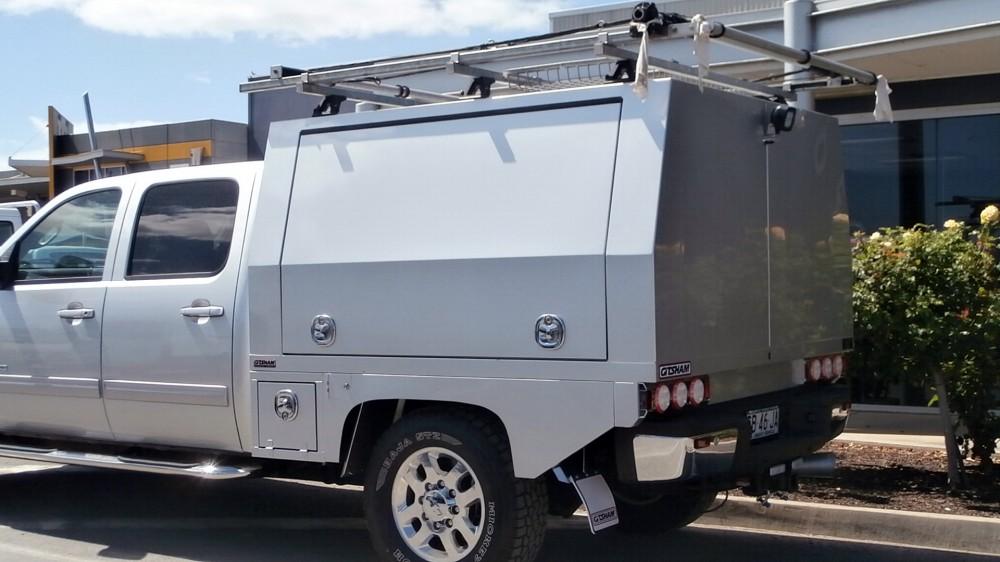 Gmc Silverado 2 Door Service Body Aluminium Auto