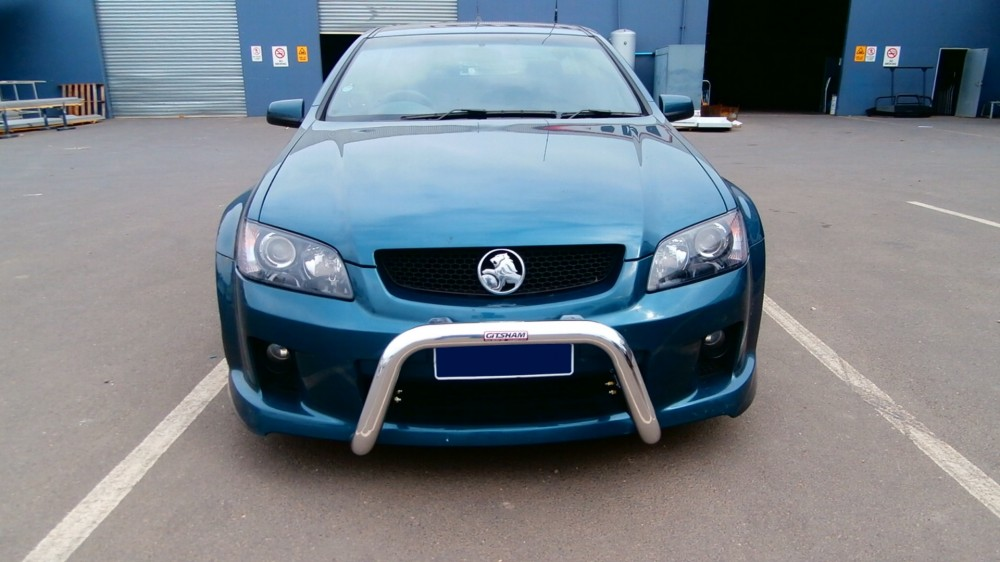 Holden Ve Commodore Nudge Bar Aluminium Auto Accessories